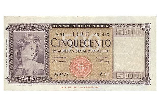 1223 0 cinquecento_lire_italiane_banconota_ok
