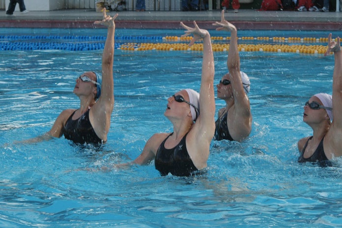 557 0 In piscina   Il nuoto sincronizzato