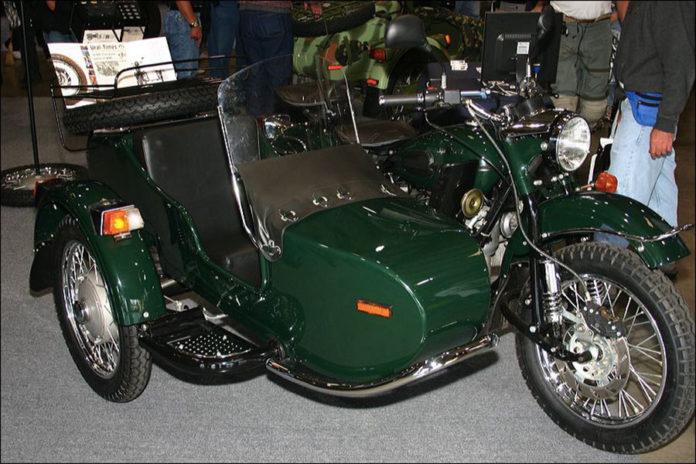930 0 MODELLISMO   Veicoli   Sidecar. Le IMZ Ural