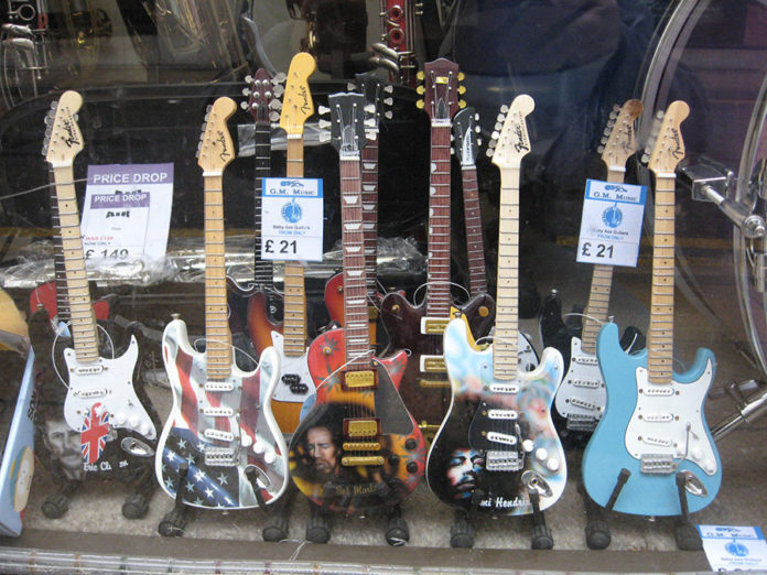 993 0 Miniature Guitars